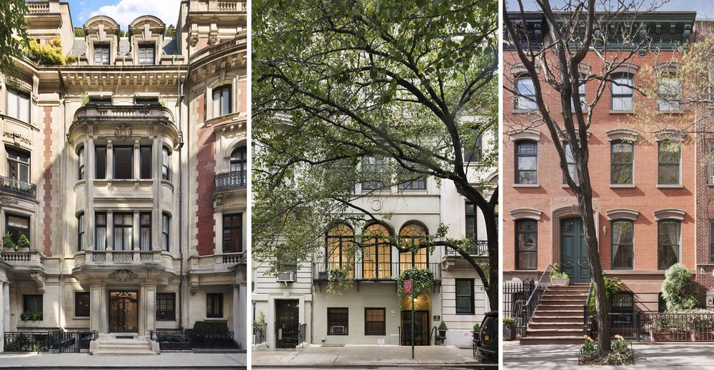 Manhattan Townhouses For Sale Are Lingering On Real Estate Market