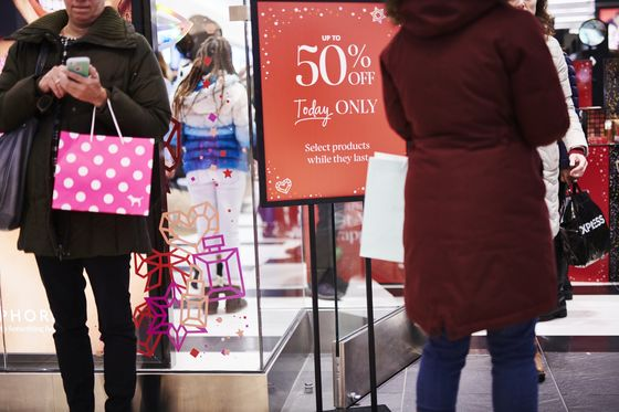 'Lackluster' Holiday Sales Cast a Pall Over U.S. Retail Sector