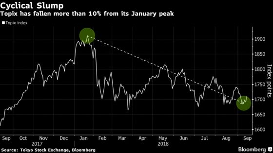 Hunters of Japan Stock Bargains May Want to Wait for U.S. Vote