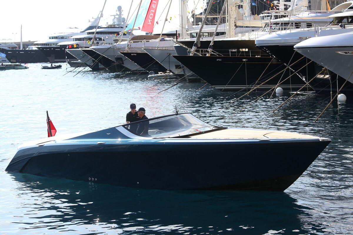 2016 Monaco Yacht Show Bloomberg
