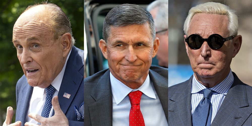 Who Might Trump Pardon After the Election? List Includes Giuliani, Flynn - Bloomberg