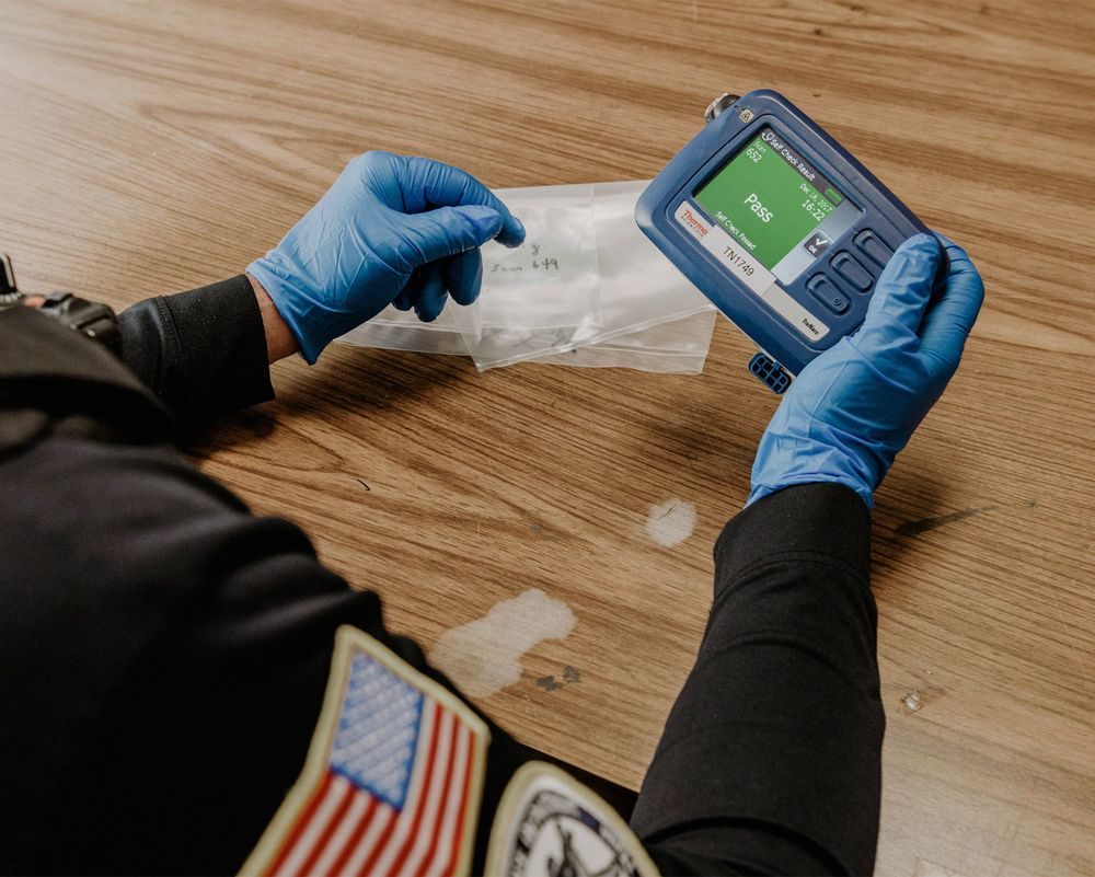 This Handheld Device Detects Opioids  It's Not Always Right - Bloomberg
