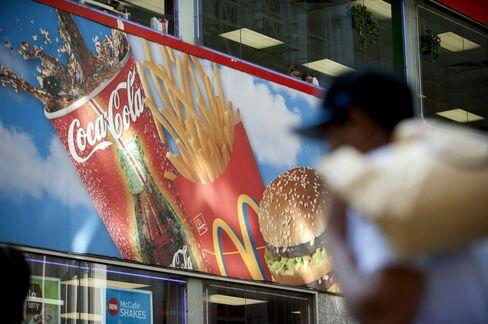 McDonald's Net Rises 8.6% on U.S. Same-Store Sales