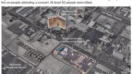 Fear Grips Vegas Strip; Gunman Kills 59 – Trending Stuff