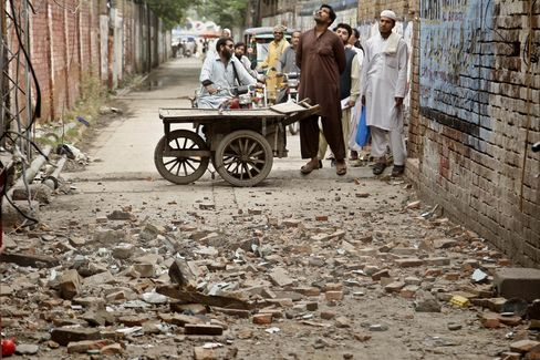 Pakistan after the powerful earthquake hit South Asia