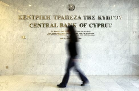 Cyprus Parliament to Vote on Deposit Levy Demanded by Euro Area