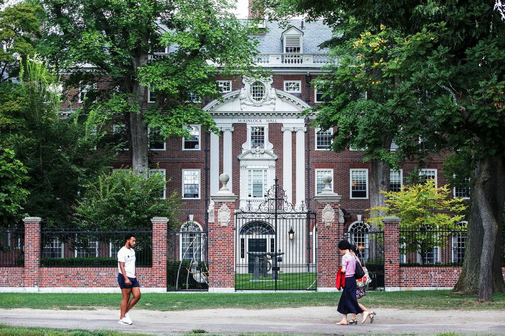 Harvard University, Cambridge, Massachusetts..