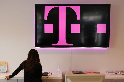 Inside a T-Mobile US Inc. Store in Torrance
