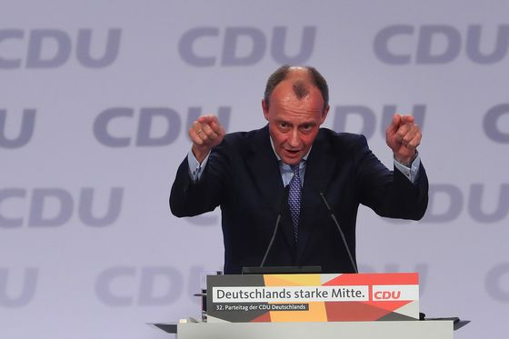 Merkel's CDU Party Rejects Accusations of 'Anti-Merz' Campaign