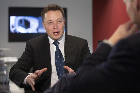 Co-founder of Tesla Motors Inc. Elon Musk