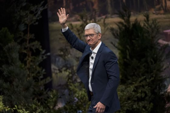 Apple's Cook Set For Irish Award After Years Of Tax Disputes