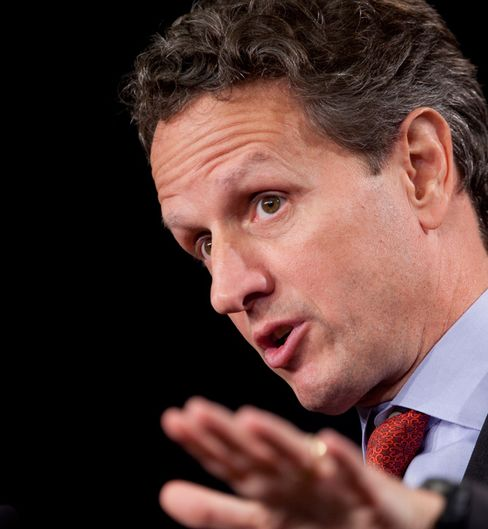 Geithner Says Dodd-Frank Opponents Add to Market Uncertainty