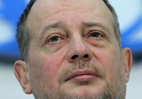 Russian Billionaire Vladimir Lisin