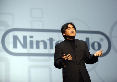 Satoru Iwata, President of Nintendo, del