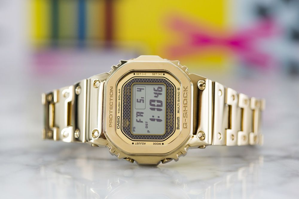 89ffb2d479d19 Gold Casio G-Shock GMW-B5000 Full Metal Review - Bloomberg