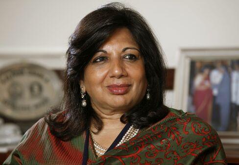 Biocon Managing Director Kiran Mazumdar-Shaw