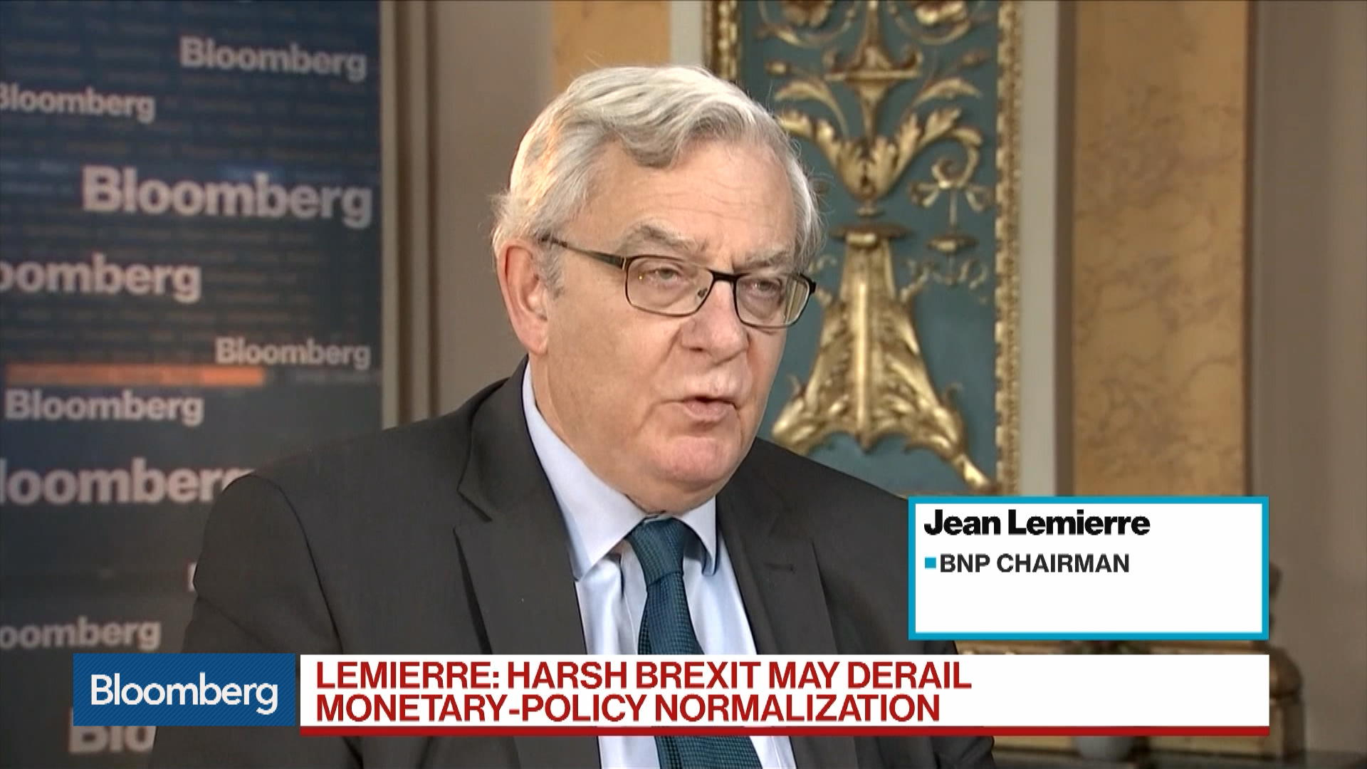 BNP Says a `Harsh Brexit' May Derail Monetary-Policy Normalization