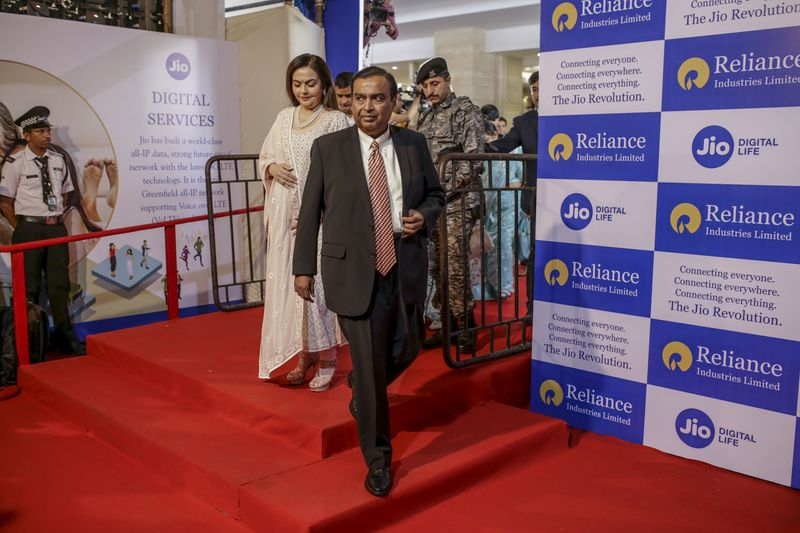 Reliance to Sell Stake to Saudis at $75 Billion Value