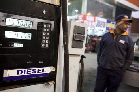 India's Diesel Price Increase May Signal More Assertive Singh
