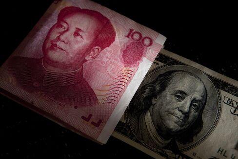 Chinese Yuan and U.S. Dollar