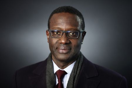 Credit Suisse CEO Tidjane Thiam following a Bloomberg Television interview in Davos, Switzerland.