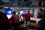 Trading On The Floor Of The NYSE While Stocks Break Lower As China Trade Tension Lingers