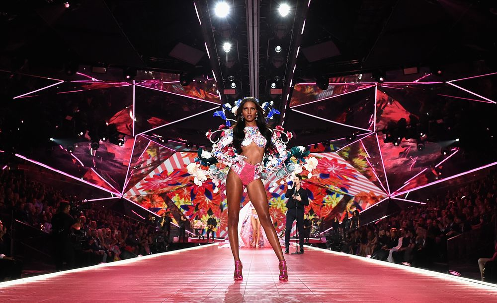 9575381dc424 A model on the runway during the Victoria's Secret Fashion Show in New York  Nov.