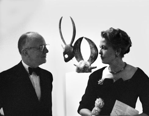Jean and Dominique de Menil