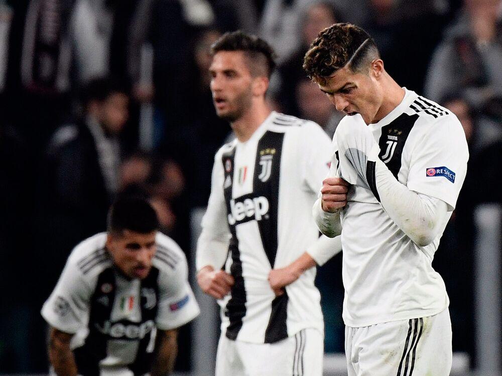 2aa18574c Juventus (JUVE) Sinks on Ajax Loss in Champions League - Bloomberg