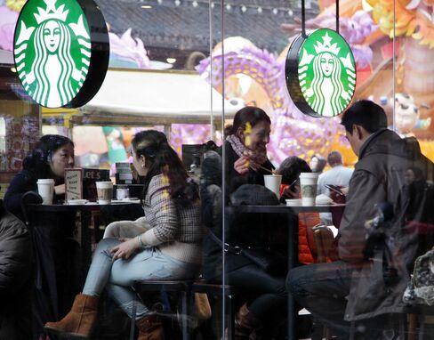 Starbucks store in Shanghai