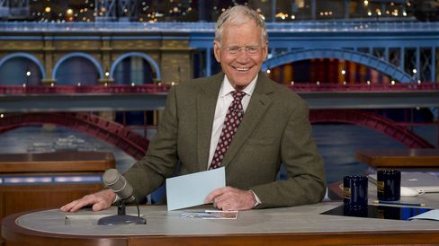 Late Show Host David Letterman