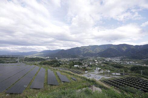 米倉山太陽光発電所
