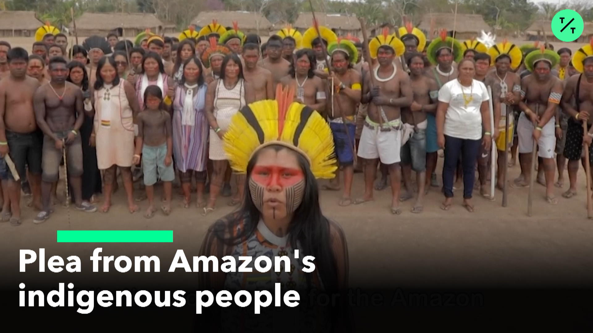Plea From Amazon's Indigenous People