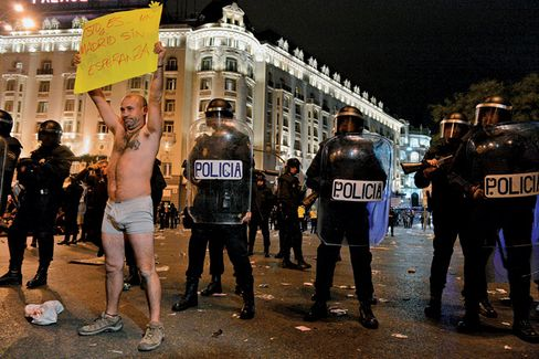 In Spain, a Bailout May Not Be Enough