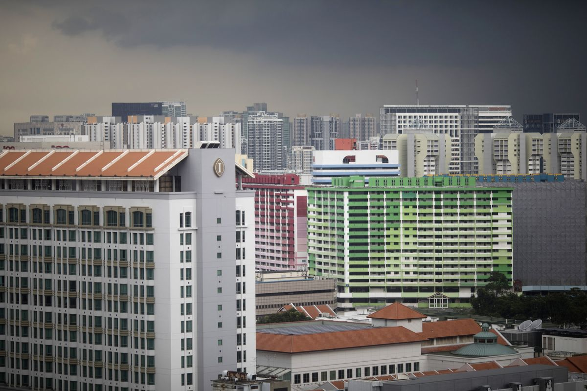 Singapore Home Sales Fall After Covid Restrictions Return