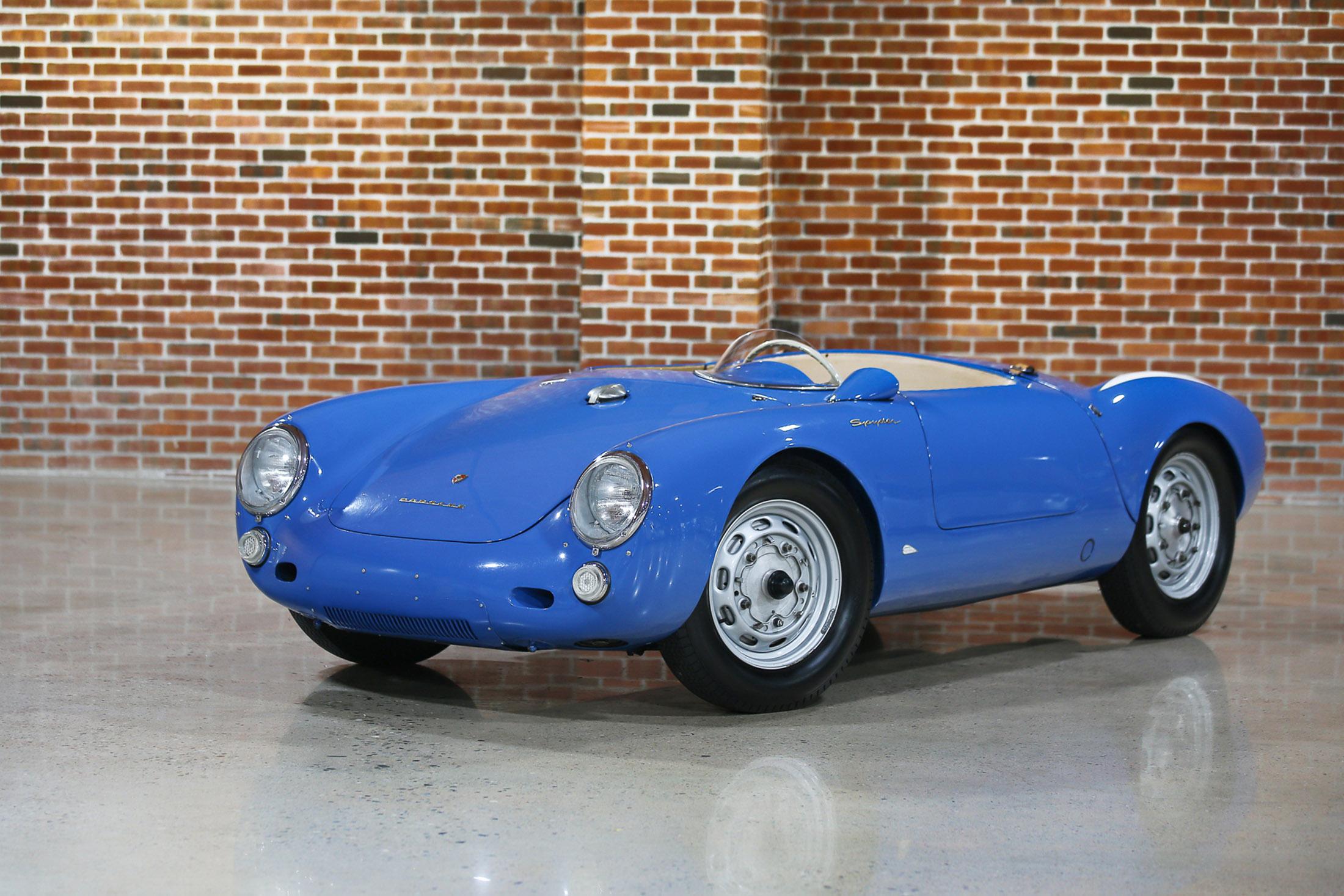 $5,335,000— 1955 Porsche 550 Spyder