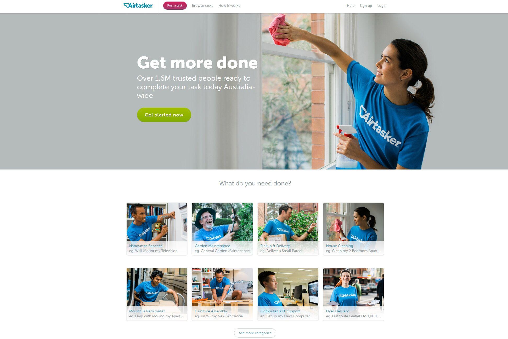Airtasker Taking On Sharing Economy in TaskRabbit's Footsteps