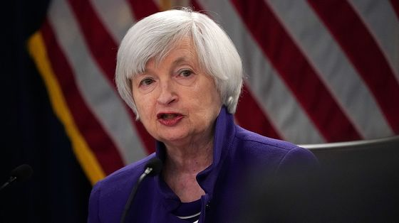 Yellen at Treasury Ticks Enough Boxes for Left-Leaning Democrats