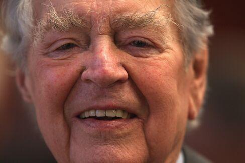 ThyssenKrupp Honorary Chairman Berthold Beitz
