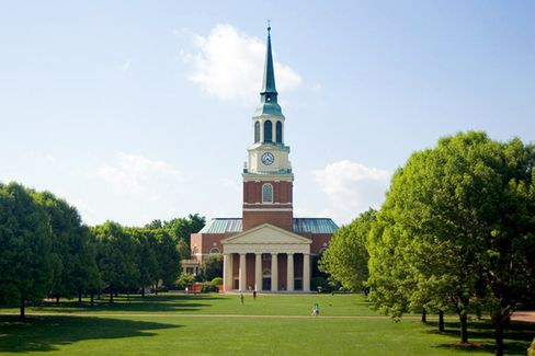 B-School Photo of the Week: Wake Forest