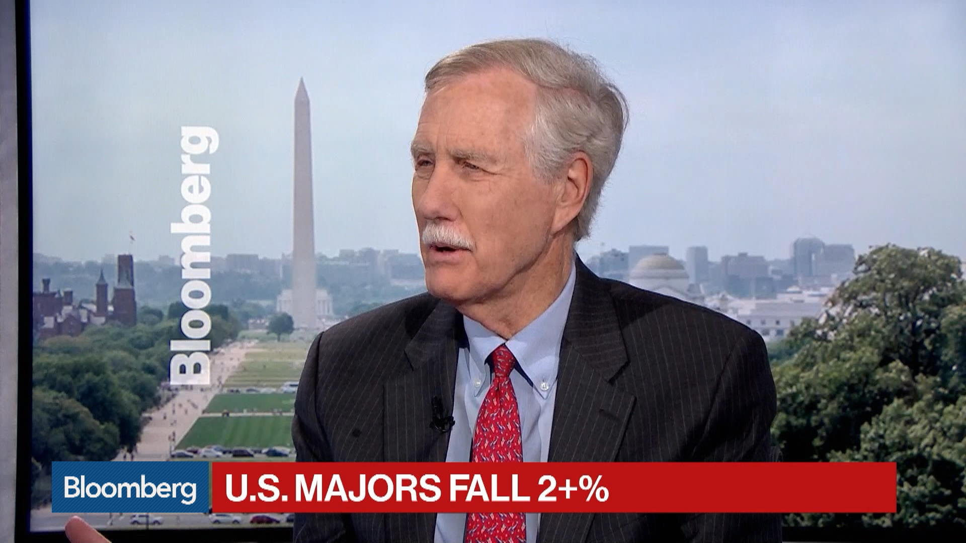 Sen. King Says Next Pearl Harbor Will Likely Be Cyber