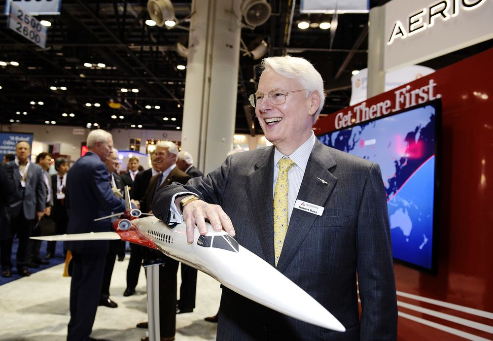 Billionaire's Dream of Supersonic Luxury Jet Gets Assist From GE