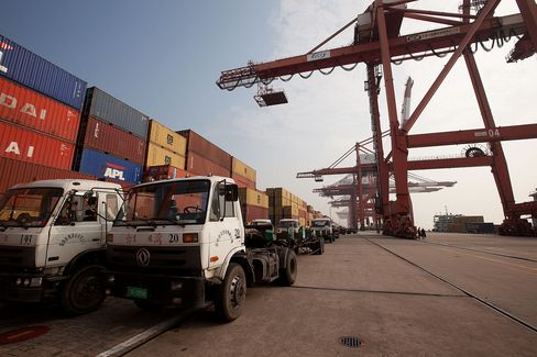 China Reports Surprise Trade Deficit as Export Growth Slumps