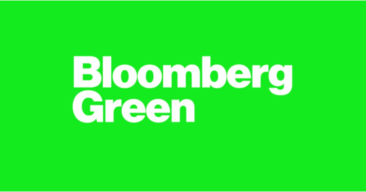 Bloomberg Green: The Time is Now