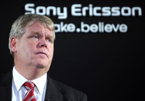 Sony Ericsson CEO Bert Nordberg