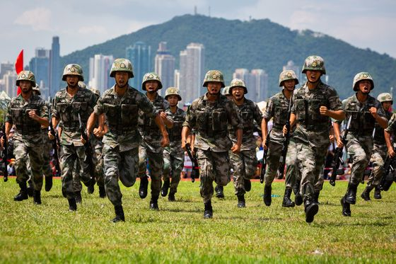 How Many Chinese Soldiers Are in Hong Kong and What Do They Do?