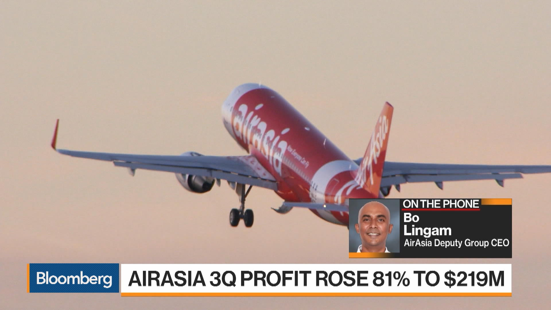 AirAsia's Lingam Says Reports of End to India Joint Venture Not True