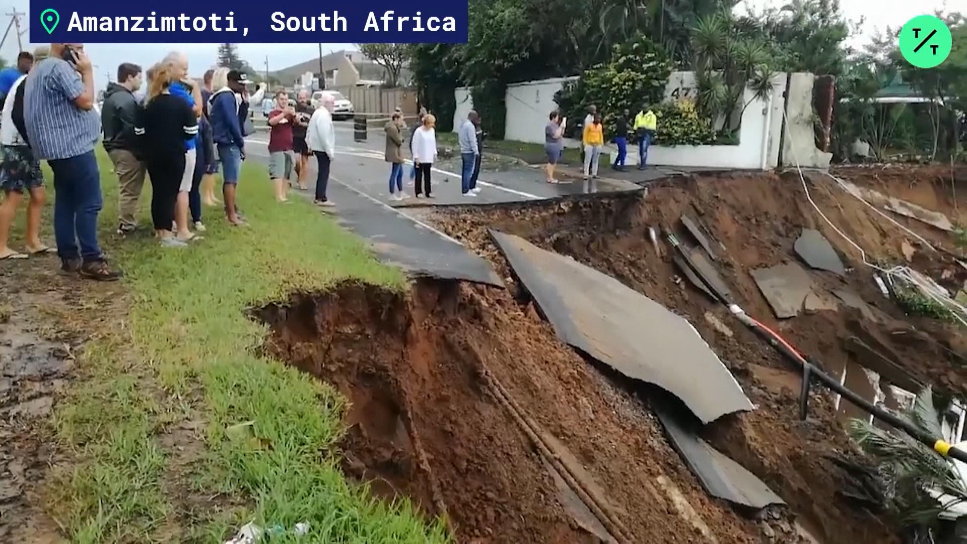Ground Collapse Swallows S. Africa Homes