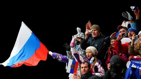 Russians Rallying Around Sochi Offer Putin Return on $44 Billion