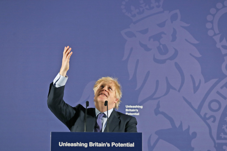 """Boris Johnson sprawia, że przemówienie po Brexicie """"Uwolnij potencjał Wielkiej Brytanii"""""""